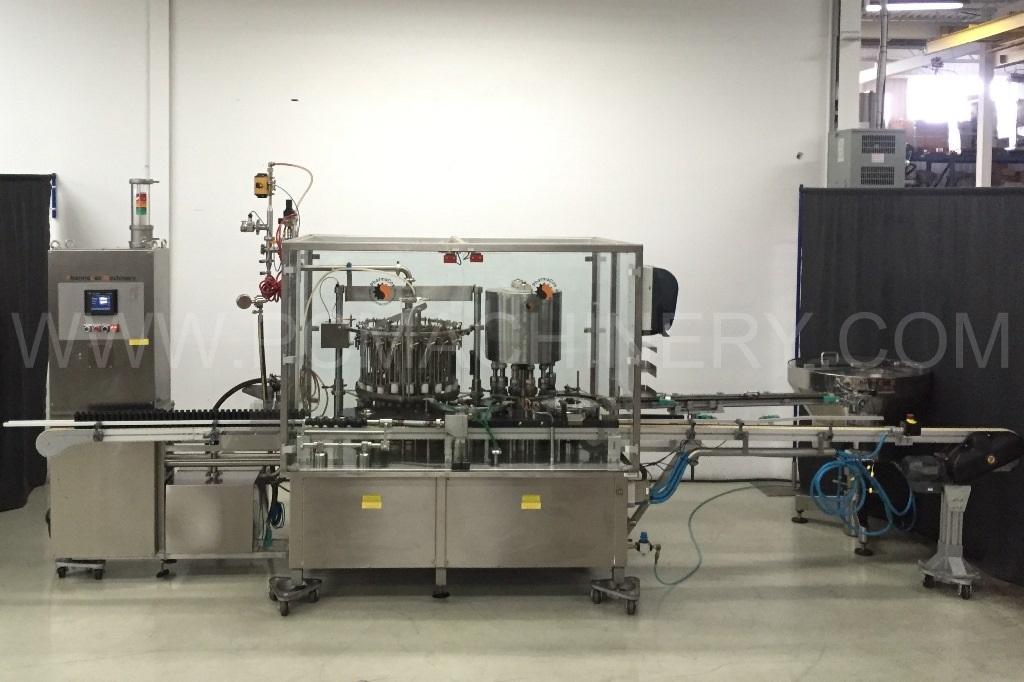 Monoblock para Combinación de Llenado y Tapado MAR - Macchine Automatiche Riempitrici M47-20-12-TV