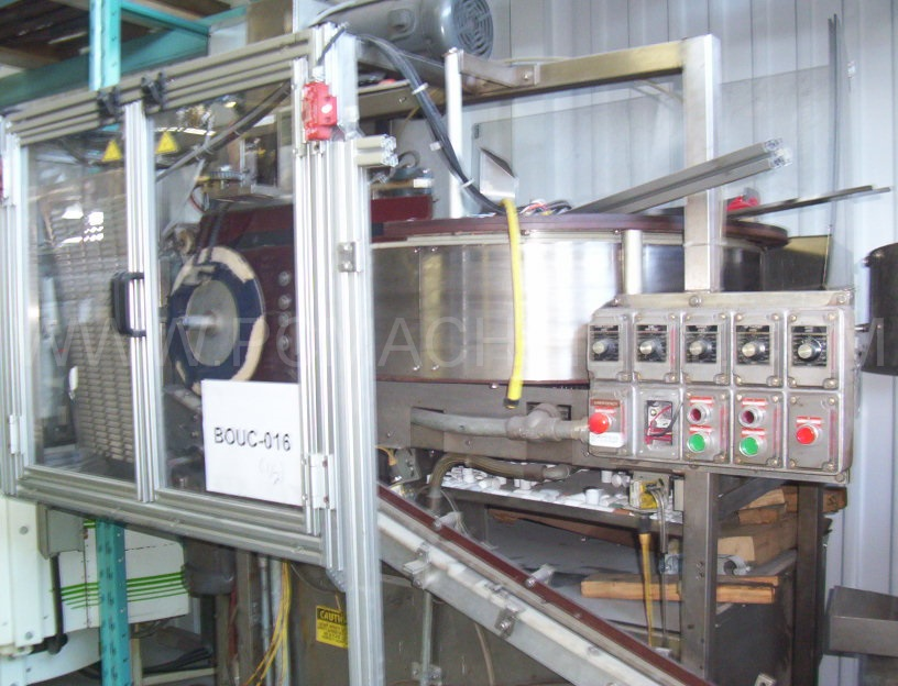 "Used New England Machinery capper, model NEILC-4, 36"" diameter centrifugal cap sorter"