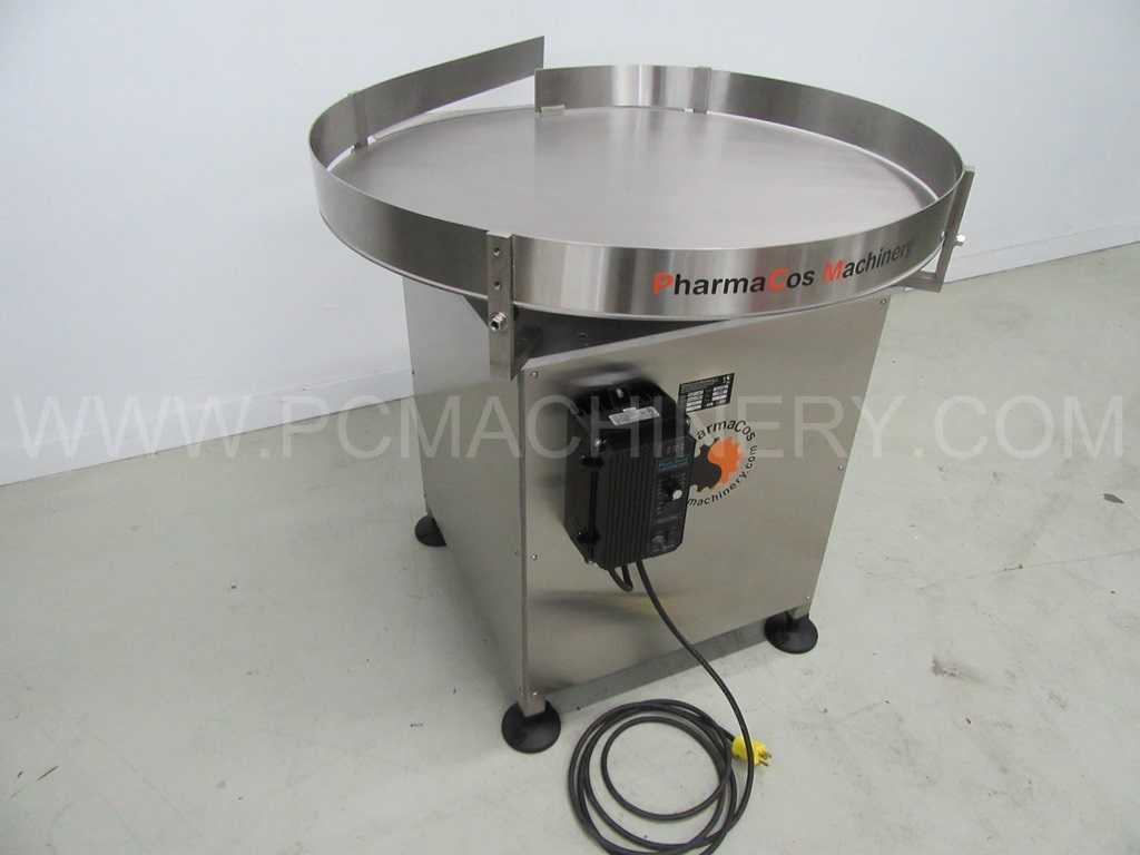 New PCM 36'' accumulation turntable model 36SS