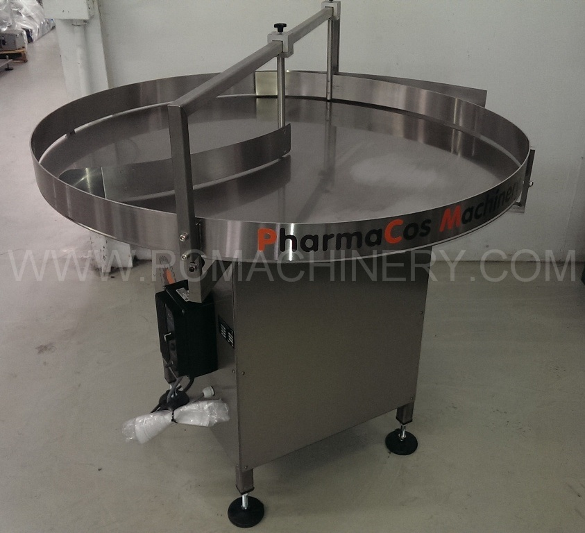 New PCM 48'' feeding accumulation turntable model 48SS